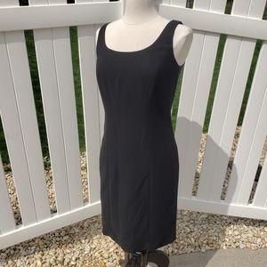 🆕 Studio Tahari LBD Black Sleeveless Midi Dress